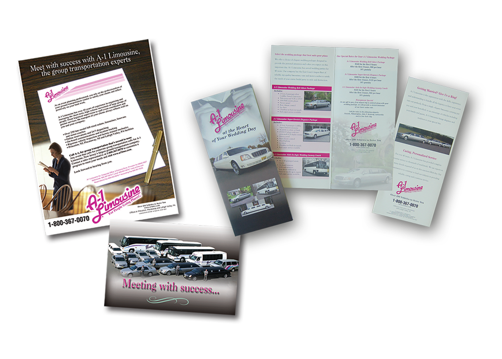 A1 Limo Direct Mailers