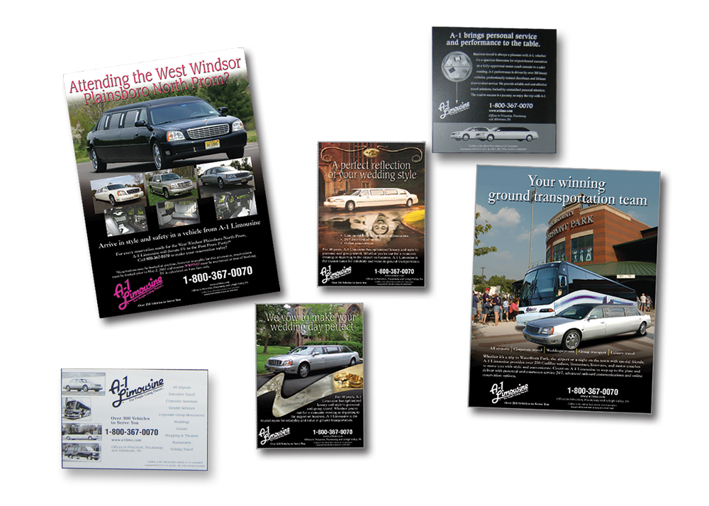 A1 Limousine Ads And Flyers
