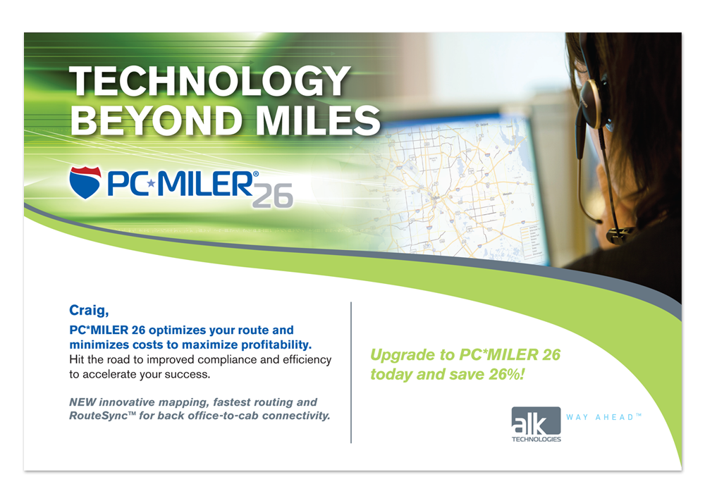ALK PC Miler Direct Mail