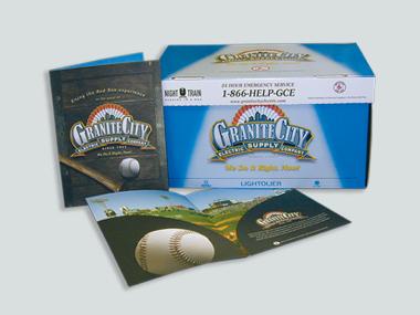 Granite City Game Day Folder and Night Train Box