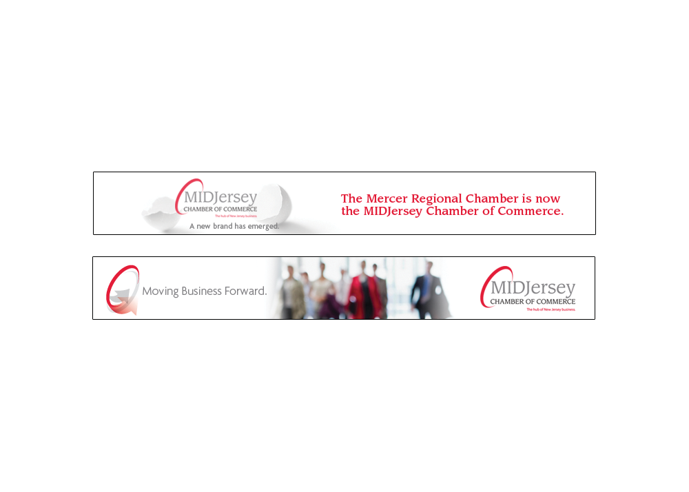 MIDJersey Chamber of Commerce Digital Banner Ads