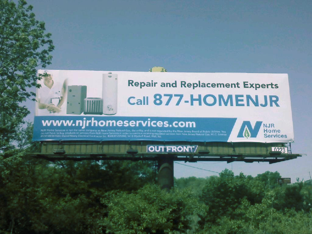 NJR Home Services Billboard