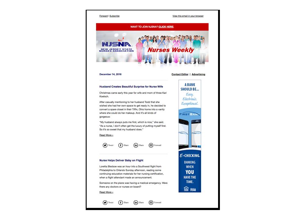 NJSNA Nurses Weekly E-publication