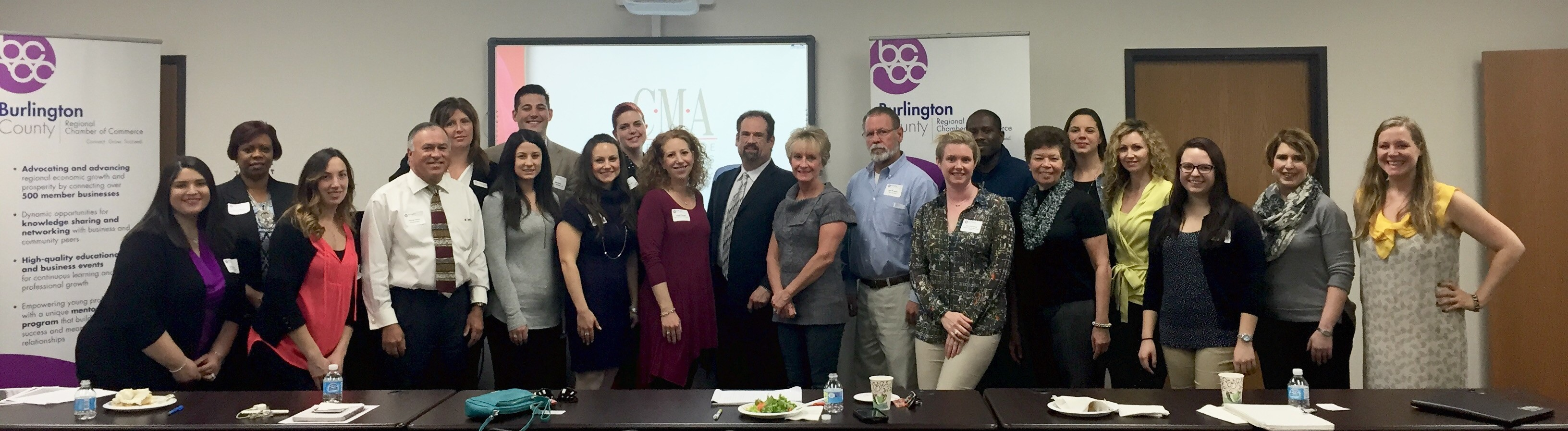 It was a full house at the Burlington County Regional Chamber of Commerce luncheon today where Kenneth Hitchner, public relations and social media director at Creative Marketing Alliance spoke about building a brand on social media.
