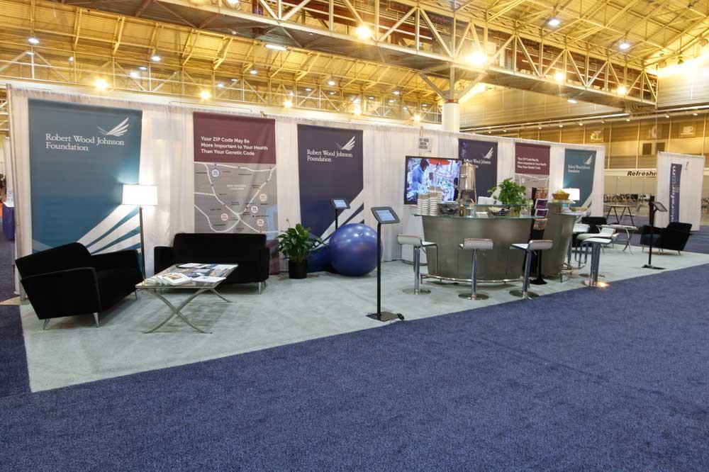 RWJF Tradeshow Booth