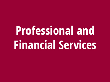 Industries We Serve Professional and Financial Services