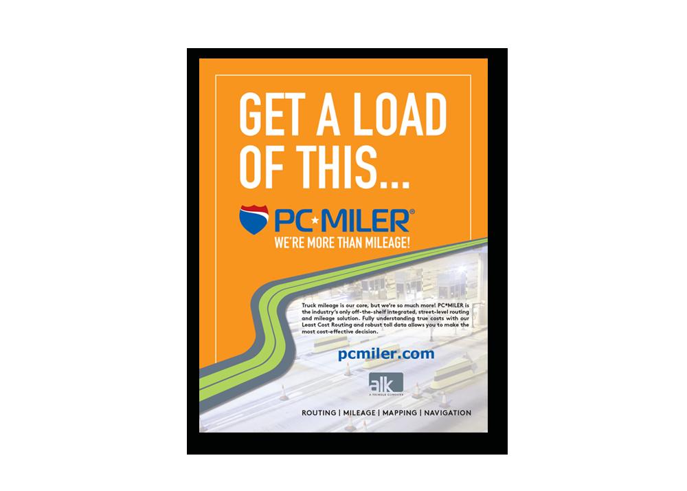 ALK PC Miler Ad Campaign