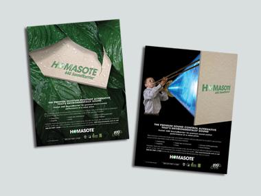 Homasote Ad Campaign