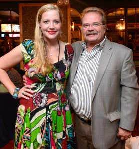 Jen Samuel, a public relations and social media specialist at Creative Marketing Alliance (CMA) and said Jeffrey Barnhart, CMA CEO and president at the Women of the Revolution dinner last week in Lambertville.