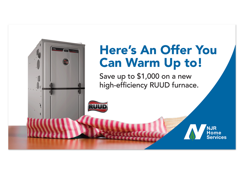 NJR Home Services RUDD Furnace Promo DM
