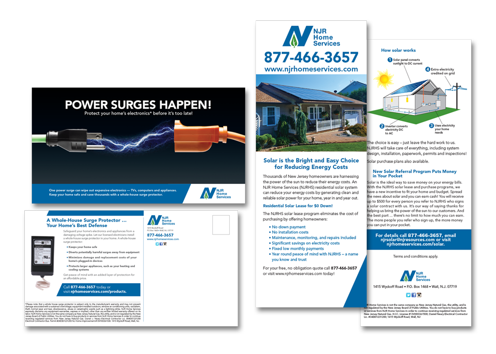 NJR Home Services Sell Sheets