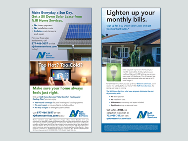 NJR Home Services Solar Ads