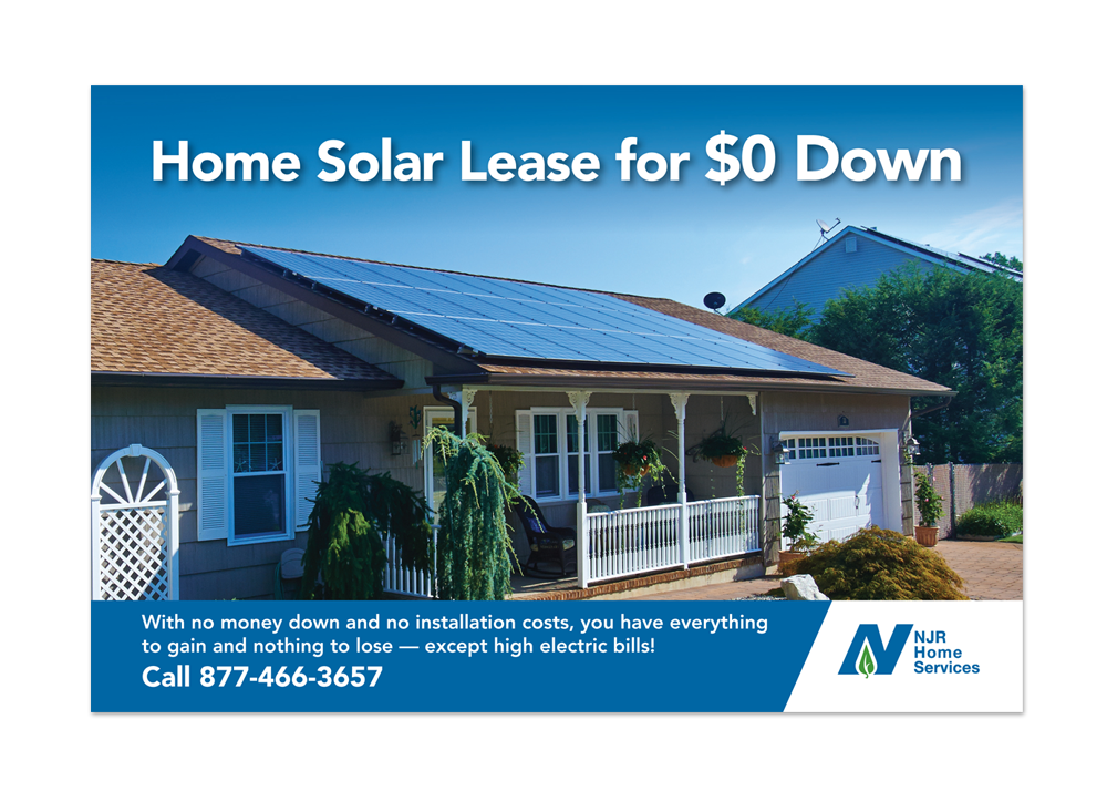 NJR Home Services Solar Direct Mail